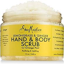 SheaMoisture Lemongrass & Ginger Body Scrub, 12 oz