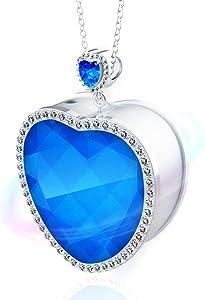 WOOLALA Ocean Heart Portable Air Necklace