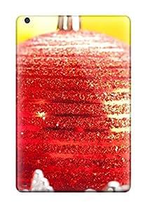 Best High Grade Flexible Tpu Case For Ipad Mini 3 Christmas Three Red Balls