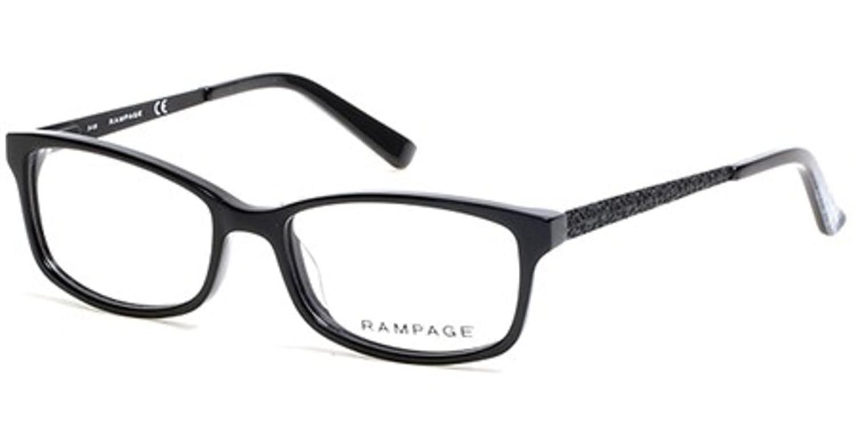 RAMPAGE Eyeglasses RA0207 001 Shiny Black