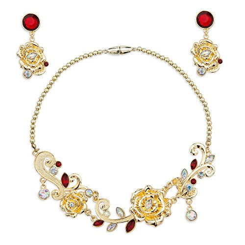 Disney Belle Jewelry Set for Girls Gold428427939336