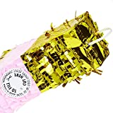 Champagne Bottle Party Pinata with Gold Foil