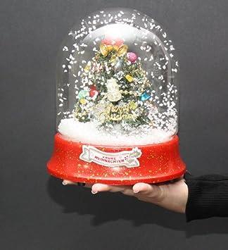 Weihnachtsdeko Schneekugel.Weihnachtsdeko Schneekugel Inkl Eingebautem Ventilator Und Jingle Bells Musik