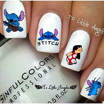 Amazon Lilo Stitch Disney Cartoon Nail Art Water Slide
