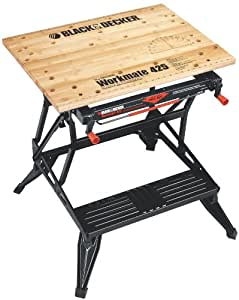 Black & Decker WM425 Workmate 425 550-Pound Capacity Portable Work Bench
