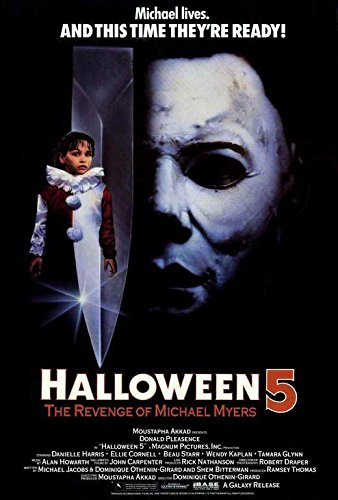 Halloween 5: The Revenge of Michael Myers POSTER Movie (27 x 40 Inches - 69cm x 102cm) (1989)