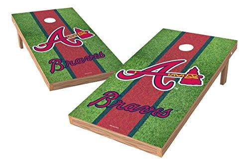 MLB Atlanta Braves Field XL Shield Tailgate Toss Game, 24
