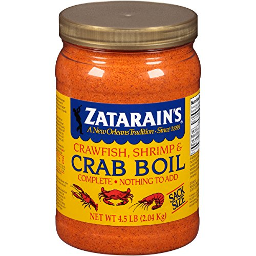 Zatarain's Crab Boil Seasoning- Sack Size (Best Way To Cook Live Lobster At Home)