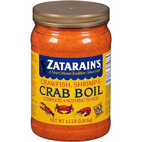 Boil Liquid Crab (Zatarains Pre-Seasoned Crab and Shrimp Boil 72 Ounce)