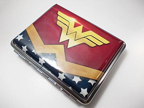 Wonder Woman Regular Cigarette Case Wallet Card Holder Banknote Cigarettes