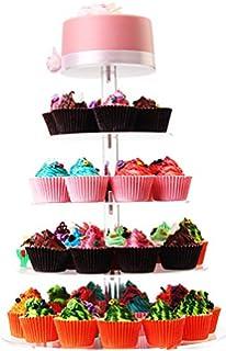 Amazon.com   5 Tier Crystal Acrylic Round Cupcake Stand Wedding ...