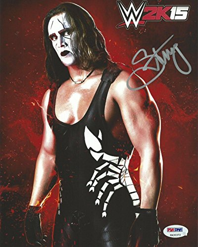 5 Promo 8x10 Photo COA Picture Autograph WCW TNA NEW - PSA/DNA Certified - Autographed Wrestling Photos ()