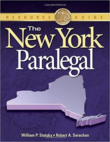 Book The New York Paralegal by William P. Statsky (2010-06-03)