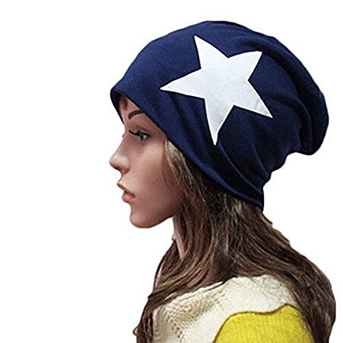 Price comparison product image XY Fancy New Unisex Men/Women Warm Winter Beanie Hat Slouchy Ski Hat Oversize Hip Hop Cap (Navy)