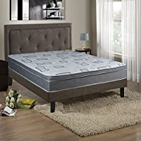 Continental Sleep Mattress,  10 Inch Eurotop Pillowtop Fully Assembled Orthopedic Full Size Mattress, Beautiful Rest Collection