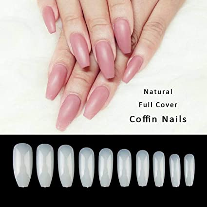 Feodor - 500 piezas de uñas postizas de acrílico ...