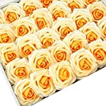 Breeze-Talk-Artificial-Flowers-Orange-Heirloom-Roses-50pcs-Realistic-Fake-Roses-wStem-for-DIY-Wedding-Bouquets-Centerpieces-Arrangements-Party-Baby-Shower-Home-Decorations-50pcs-Orange-Heirloom