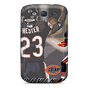 Quality BillCM Case Cover With Chicago Bears Nice Appearance Compatible With Galaxy S3