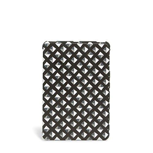Nubuck Stud - Vera Bradley Mini Flip-Fold Tablet Case in Black White Studs
