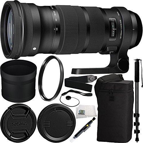 Sigma 120-300mm f/2.8 DG OS HSM Lens for Nikon Bundle Includ