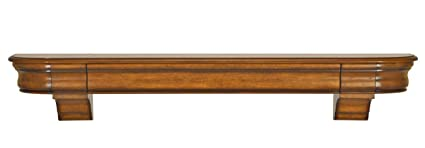 pearl mantels 415 60 50 abingdon wood 60 inch fireplace mantel shelf - Fireplace Mantel And Bookshelves
