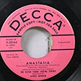 The Victor Young Singing Strings 45 RPM Anastasia / Written On The Wind