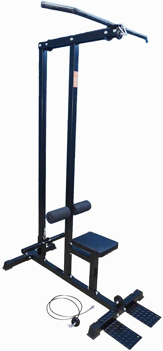 TDS 600lb Rated LAT MC OLY with Deluxe seat, Covered Foam Knee Holders,