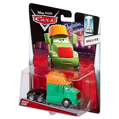 Disney/Pixar - Super Chase - Cars Oversized Circus Cab - Radiator Springs - Diecast Vehicle: Toys & Games