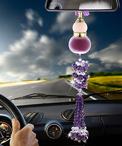 Angelamax-Car-Rearview-Mirror-Hanging-Ornament-Home-Interior-Decor-Crystal-Beads-Glass-Gourd-Perfume-Bottle-Lucky-Charm-Pendant-Hangings