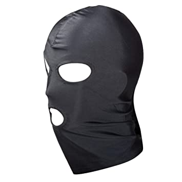 Head Mask Spandex Hood Head Mask Halloween Carnival Party Costume Accessory