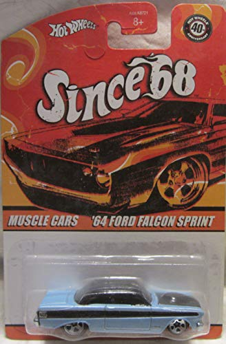 Hot Wheels Since '68 Muscle Cars '64 Ford Falcon Sprint #10 of 10 (Ford Falcon Hot Wheels)