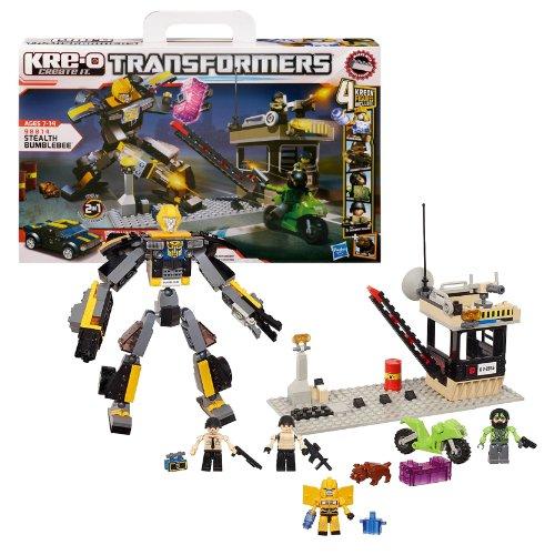 Stealth Bumble Bee - Hasbro Year 2012 KRE-O Create It Transformers