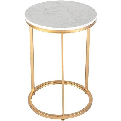 Round Table Legs Metal.Amazon Com Mei Xu Metal Round Table Geometric Modern Marble
