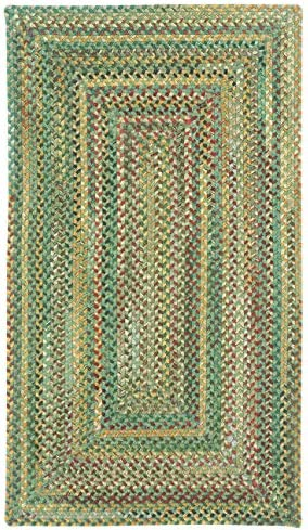 Capel Rugs Sherwood Forest Rectangle Braided Area Rug