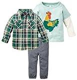 Tea Collection Baby Boys' EL Gallo Set - Multicolor - 12-18 Months