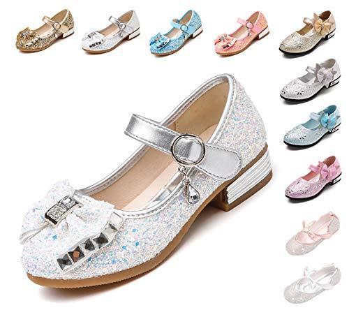Kikiz Little Girl's Princess Dress Shoes Kids Mary Jane 9 M US Toddler -