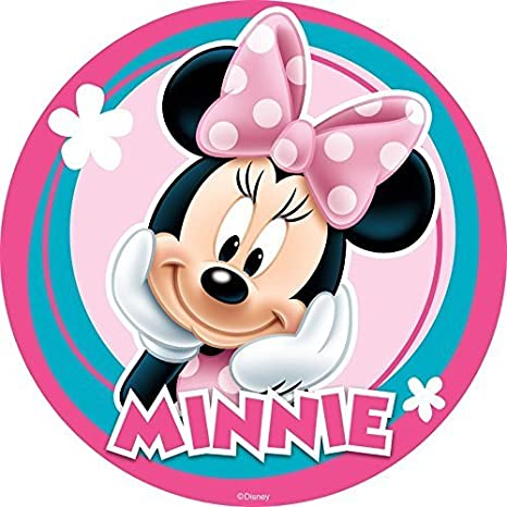 Amazon.com: Ronda de Minnie Mouse de Disney de imagen foto ...