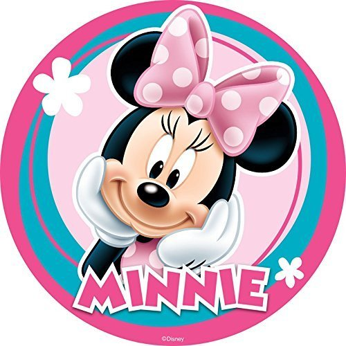 Amazon.com: Ronda de Minnie Mouse de Disney de imagen foto ...