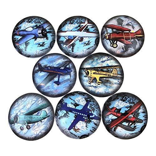(Set of 8 Airplane Cabinet Knobs)