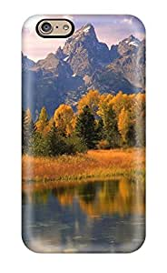 Hot Fashion QzQHcce7060PLple Design Case Cover For Iphone 6 Protective Case (earth Landscape)