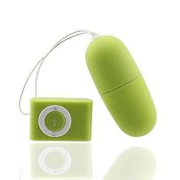 cda4aaaa73689 Eforcase 20 Frequency Female Vibration Mini Wireless Remote Control  Vibrating MP3 Love Egg...