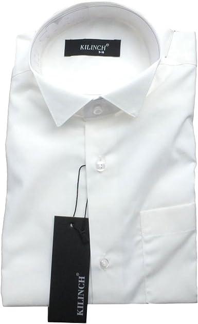 Página Chico Formal Marfil Camisa Cuello De Pajarita Crema Traje Camisas