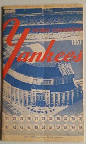 1957-yankees-program-vs-senators-24-pg-partial-scored-8-inn-apr-16-opening-day-ford-vs-stobbs-ny-2-1