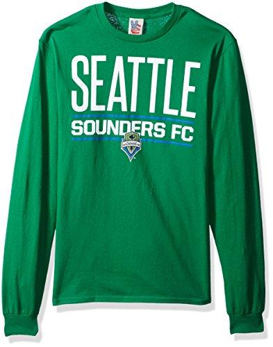 a8a141a7f65 Junk Food MLS Seattle Sounders FC Men s Long Sleeve Tee