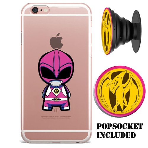 Power Rangers Gel / Jelly iPhone 7 (4.7 inch) case (includes matching...