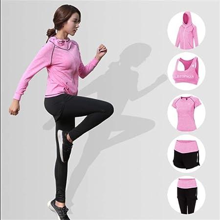 WAWRR Traje de Ropa de Yoga, Deportes Femeninos al Aire ...