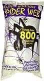 #5: Fun World Super Stretch Spider Web for Halloween Indoor/Outdoor Decoration 8.4 oz 800sqft