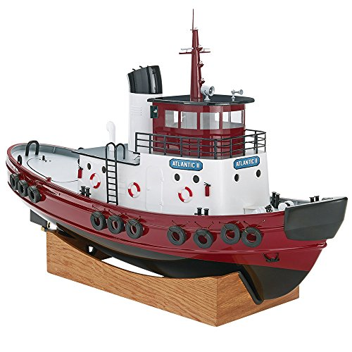 AquaCraft Models Atlantic II Electric Powered 2.4GHz Radio Controlled Ready-to-Run Harbor Tugboat