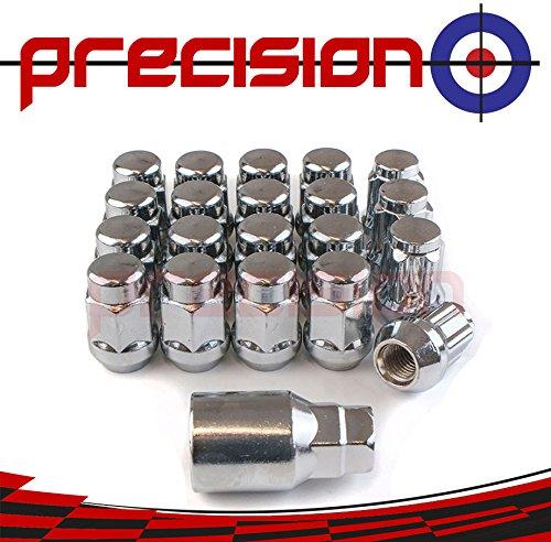 Precision 16 x Chrome Wheel Nuts and 4 x Locking Nuts for Ḿazda 6 Series PN.SFP-16NM10+N10883