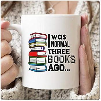 65516a1c78f AliceHitMood - I Was Normal Three 3 Books Ago Mug, Book Lover Gift, Crazy  Book Lover, Bookish Mug, Bookish Gifts, Reading Coffee Mug, Librarian Mug,  ...